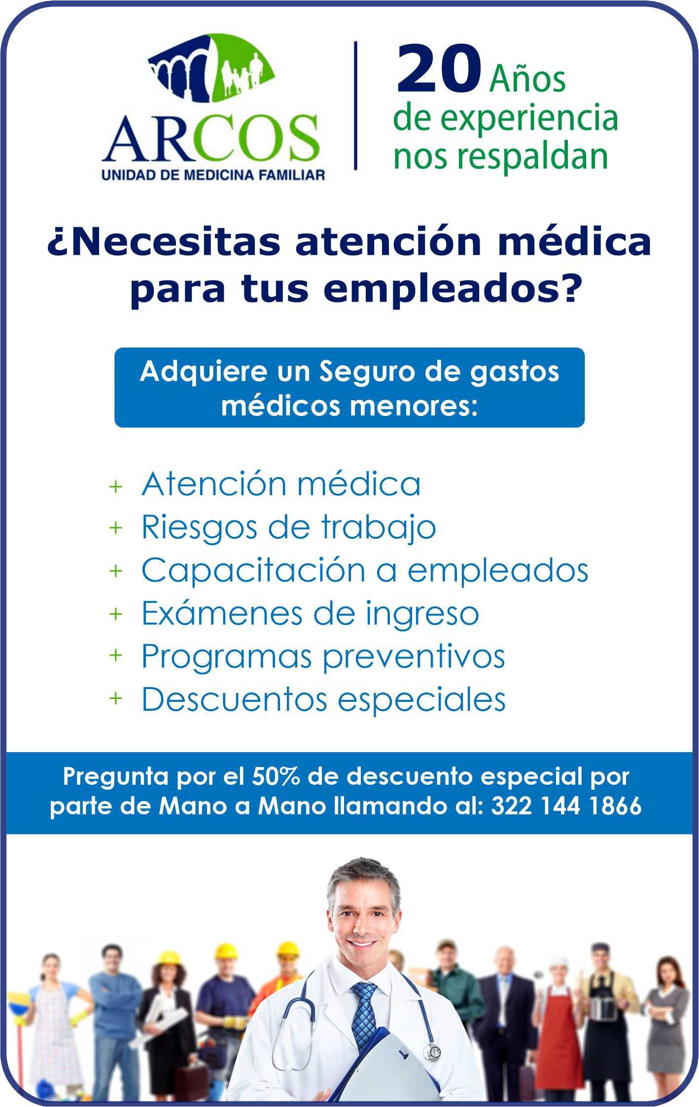 Servicios medicos arcos dise%c3%91o