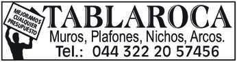 anuncio de Tablaroca Muros, Plafones, Nichos, Arcos. Tel.: 044 322 20 57456